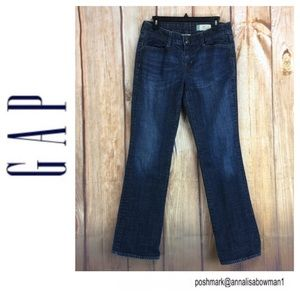 💸GAP Curvy stretch Bootcut Jean size 10L